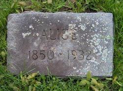 Alice <i>Benedict</i> Bristow