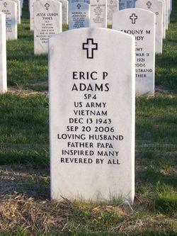 Lieut Eric Paul Adams