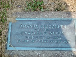 Amanda Elizabeth <i>Silcot</i> Benedum