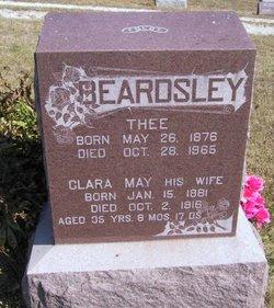 Clara May <i>Cornelison</i> Beardsley