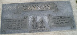Lois Minnie <i>Eriksson</i> Cannon