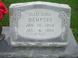 Ollie Edna <i>Wood</i> Dempsey