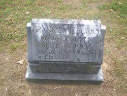 Franklin E Burks