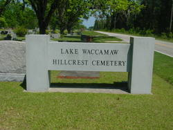 Lake Waccamaw Hillcrest Cemetery