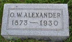 Otis Ward Alexander