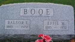 Balsor Isley Booe
