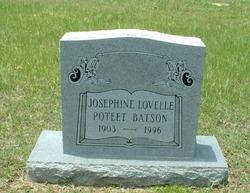 Josephine Lovelle <i>Poteet</i> Batson