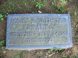 Mary P. <i>Goldstein</i> Abramson