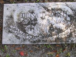 Louisa <i>Tillotson</i> Powell