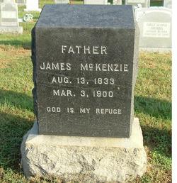 Pvt James Mortimer McKenzie, Sr