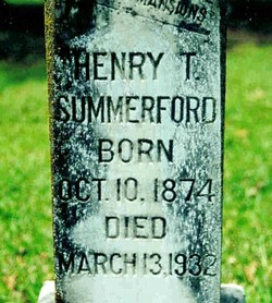 Henry Thomas Summerford