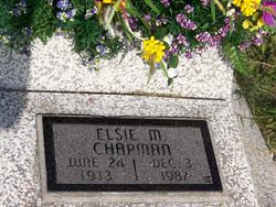 Elsie Mae <i>Gillespie</i> Chapman