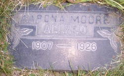 Aarona <i>Moore</i> Allred