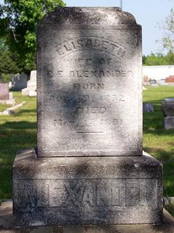Elisabeth <i>Betts</i> Alexander
