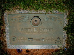 Spec Archie Monroe Carlyle