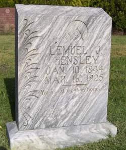 Lemuel J Hensley