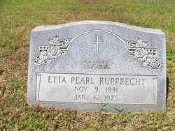 Etta Pearl Rupprecht