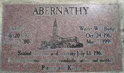 Betty Geneva <i>Moon</i> Abernathy
