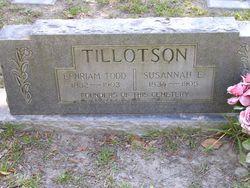 Ephriam Todd Tillotson
