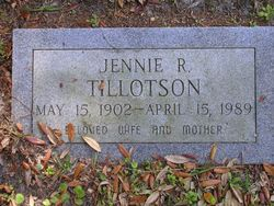 Jennie R. Tillotson