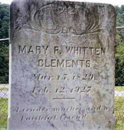 Mary Frances <i>Allen</i> Clements