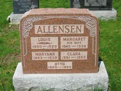 Margaret <i>Pfeffer</i> Allensen