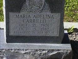 Maria Adelina <i>Vidal</i> Carrillo