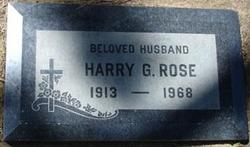 Harry Gorden Rose