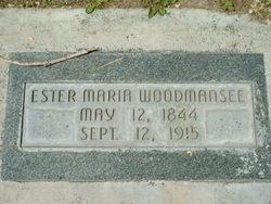 Ester Maria <i>Parr</i> Woodmansee