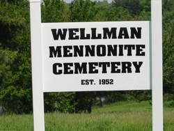 Wellman Mennonite Cemetery