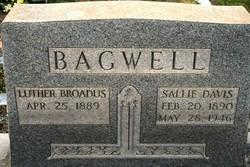 Sallie <i>Davis</i> Bagwell