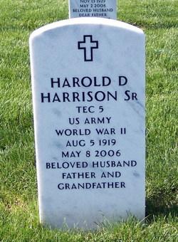 Harold D Harrison, Sr