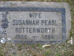 Susannah Pearl <i>Snyder</i> Butterworth