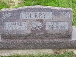 Ralph E Curry