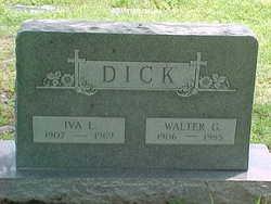 Iva L. <i>Roller</i> Dick