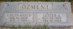 Virginia Ruth <i>Hatch</i> Ozment