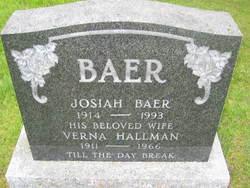 Verna <i>Hallman</i> Baer