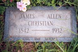 James Allen Christian
