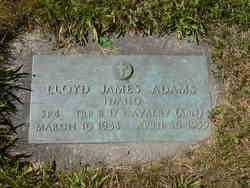 Lloyd James Adams