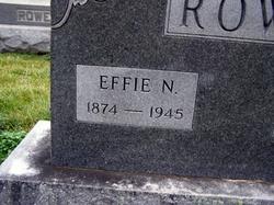 Effie Mae <i>Norris</i> Rowe