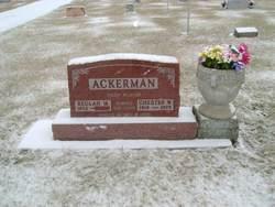 Chester Walter Ackerman