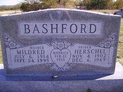 Mildred K <i>Stephens</i> Bashford
