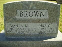 Obie W Brown