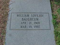 William Lovejoy Baughcum