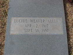 Lucius Weaver Allen