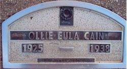 Eula Ollie Cain
