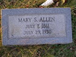 Mary Susan <i>Fletcher</i> Allen
