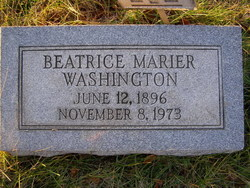 Beatrice Marier <i>Allen</i> Washington