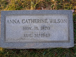 Hannah Catherine Anna <i>Fletcher</i> Farrish Wilson