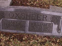 Mary J Oxsheer